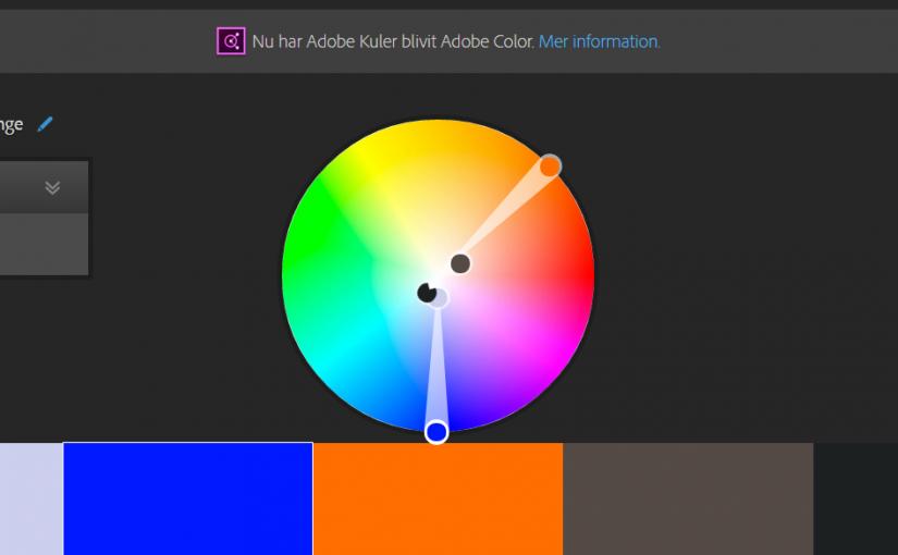 Hitta rätt färger med Adobe Color CC